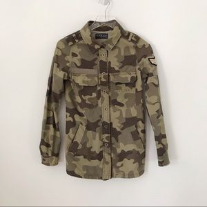 COTTON:ON | Military Camo Button Down